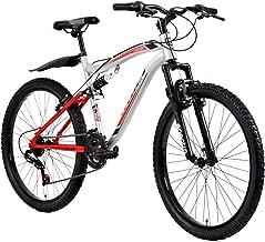 Veloci Bicicleta, Modelo Arkon D/Susp, Plata, Rodado 26
