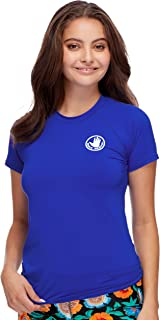 Body Glove Women's Smoothies In Motion Solid Short Sleeve...