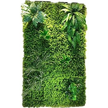 WYGG-Decoración de Muebles Pared de Fondo - Pared de Planta Artificial, Pared de Flores de Boda, Pantalla Tridimensional Decoración de Pared de Techo (4 Estilos para Elegir) /& (Color : 02): Amazon.es: Hogar