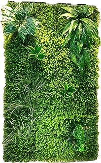 WYGG-Decoración de Muebles Pared de Fondo - Pared de Planta Artificial, Pared de Flores de Boda, Pantalla Tridimensional Decoración de Pared de Techo (4 Estilos para Elegir) /& (Color : 02)