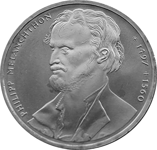 BRD    J rnr  464 1997 J Stgl. unzirkuliert Silber 1997 10 DM Melanchton