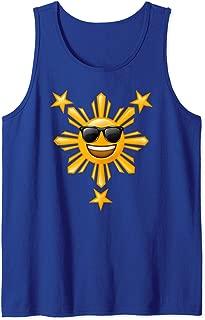 Philippines Mabuhay T shirt | Happy Sun Stars Boys Girls Tank Top