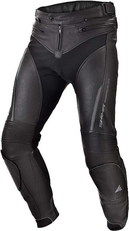 Shima Chase Sport Motorradhose Aus Leder Mit Protektoren Für Herren Schwarz 48 58 Schwarz Größe 48 Auto