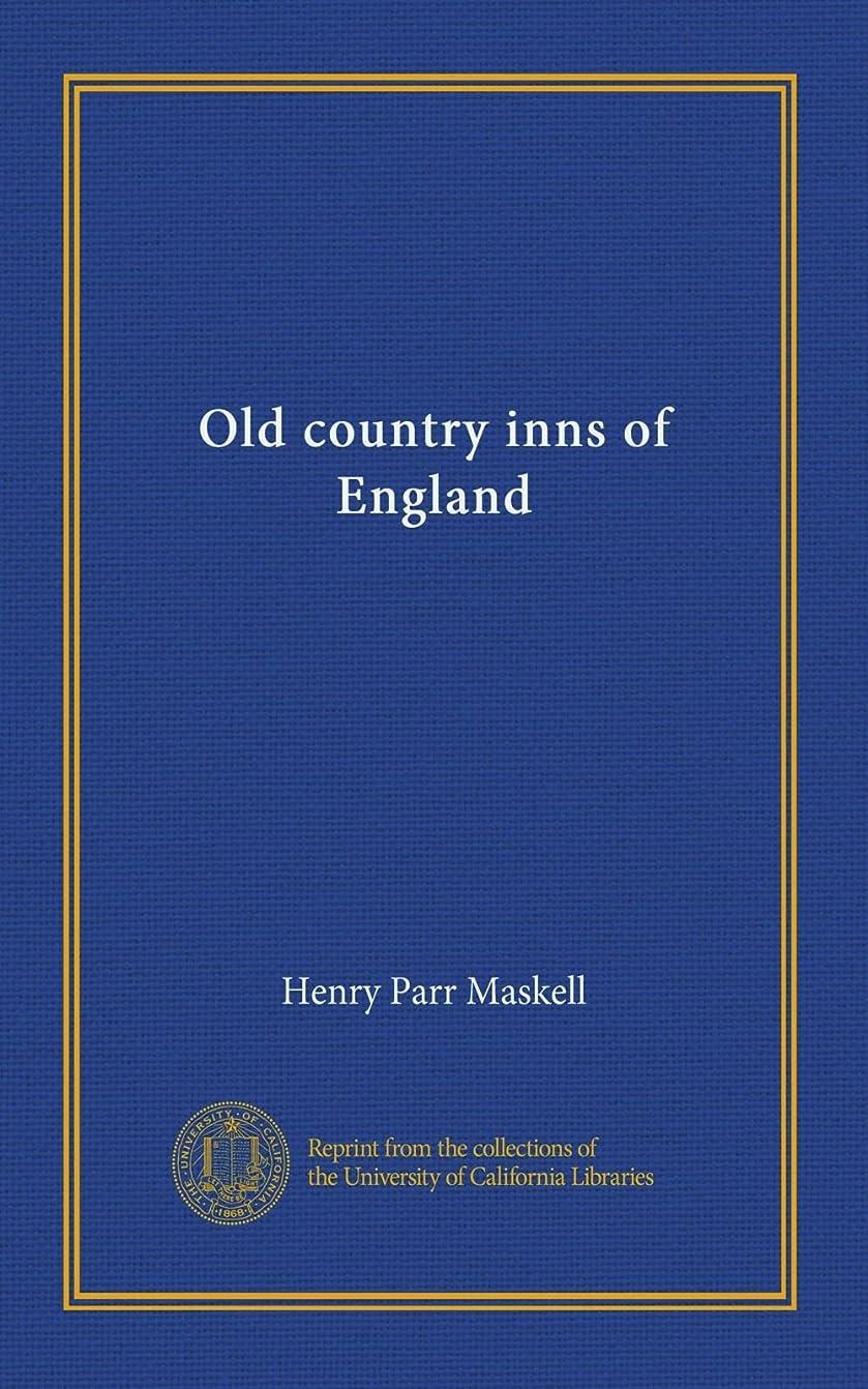 下に重くする建設Old country inns of England