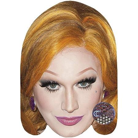 Jinx Monsson Celebrity Mask Card Face and Fancy Dress Mask