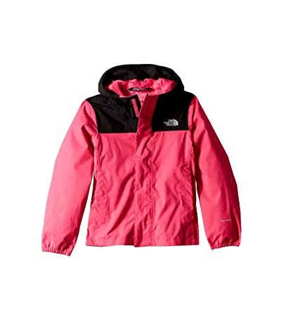 The North Face Kids Resolve Reflective Jacket (Little Kids/Big Kids) (Mr. Pink) Girl
