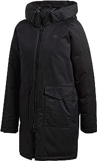 adidas Originals Women's Down Parka Jacket 14 Black
