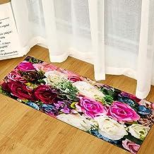 Home Welcome Rug Printed Bedroom Living Room Carpet Anti Slip Hallway Floor Mats Washable Entrance Shoes Off Doormat 40x120cm