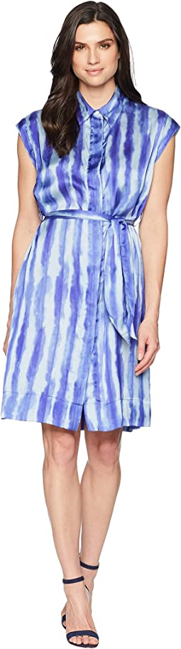 Tie-Dye Pleat/Blue