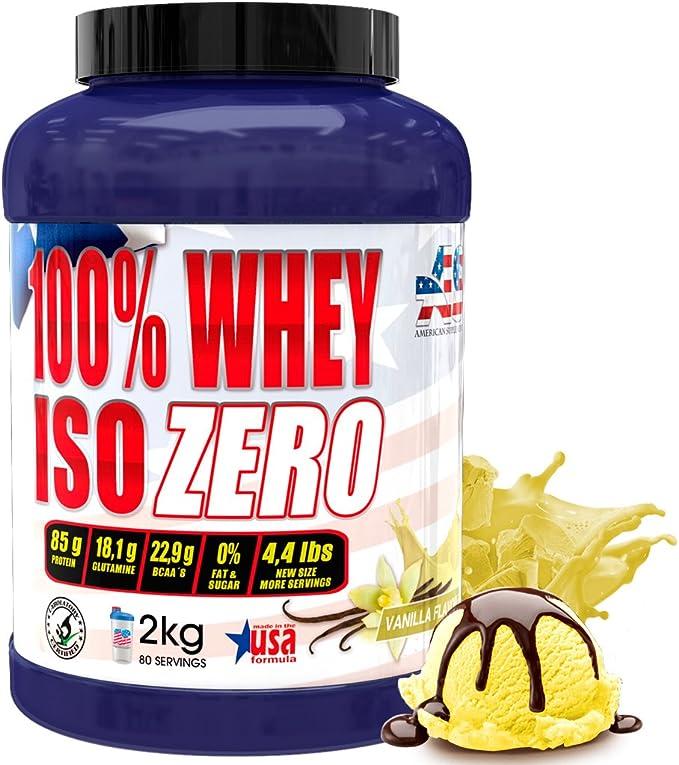 OFERTA!!! liquidación imagen anterior, Iso Zero proteína American Suplement - 2kg - Fresa