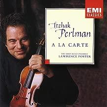 Itzhak Perlman - A la carte / Lawrence Foster