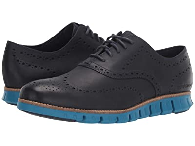 Cole Haan Zerogrand Wing Oxford (Marine Blue/Seaport) Men