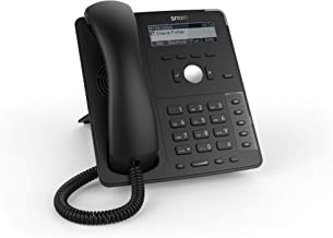 $54 » Snom SNO-D715 Professional Sip Desk Telephone Voip Phone and Device, Black