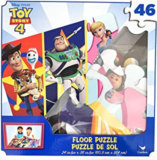 Cardinal Toy Story 4 Floor Puzzle - 46 Pieces - Builds a 3-Foot Puzzle!