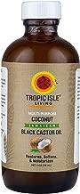 Tropic Isle Living- Coconut Jamaican Black Castor Oil-4oz Plastic PET Bottle