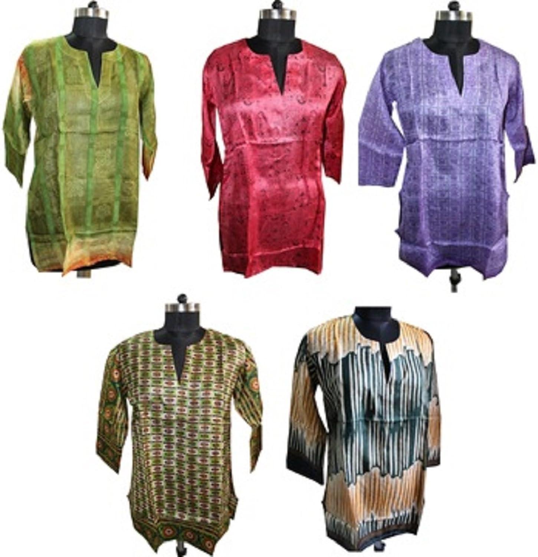 MangoGifts Women's Tunics Lot of 10 Pieces