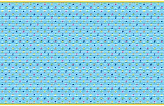Unique Baby Shark Rectangular Plastic Tablecover - 1 Pc, Multicolor, One Size