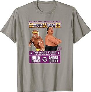 Kids Printed WWE Hulk Hogan Caricature Cool T Sports T Shirt Men/'s Womens