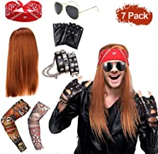 Amazon.es: disfraz rockero