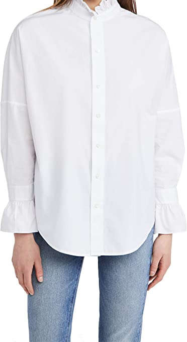 Alex Mill Women's Easy Ruffle Shirt