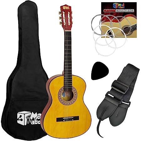 Mad About CLG1-14-PACK Pack Guitare Espagnole Classique pour Enfants 1/4 Taille