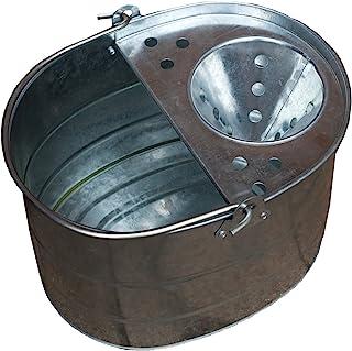 Apollo Gardening - Cubo de fregona Tradicional, Metal galvanizado, 10 litros