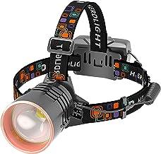 XINGTAO Hoofd Torch Super Heldere 8000LM USB Oplaadbare Led Koplamp Hoofd lamp Jacht Fietsen Lanterna Waterdicht Gebruik 3...