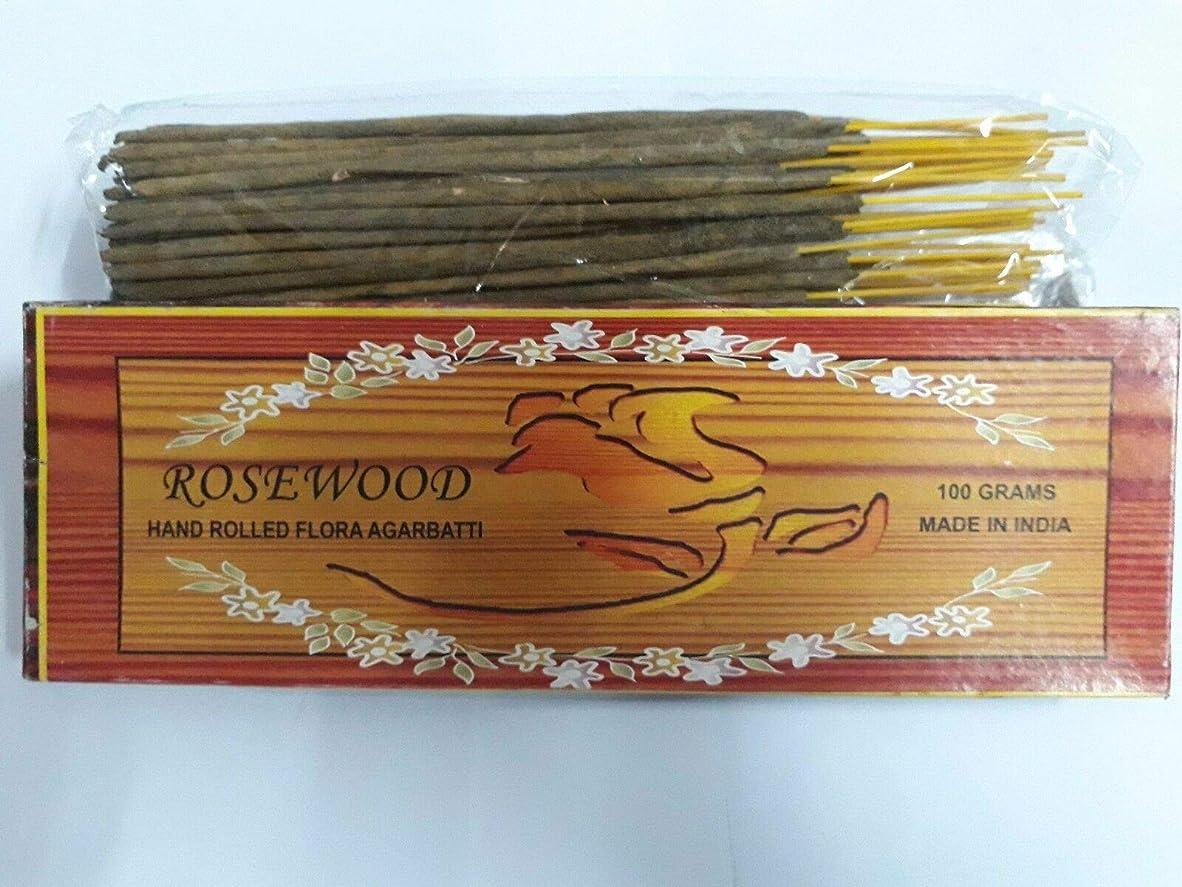 に賛成死んでいる彼女はRosewood ローズウッド Agarbatti Incense Sticks 線香 100 grams Flora Incense Agarbatti フローラ線香