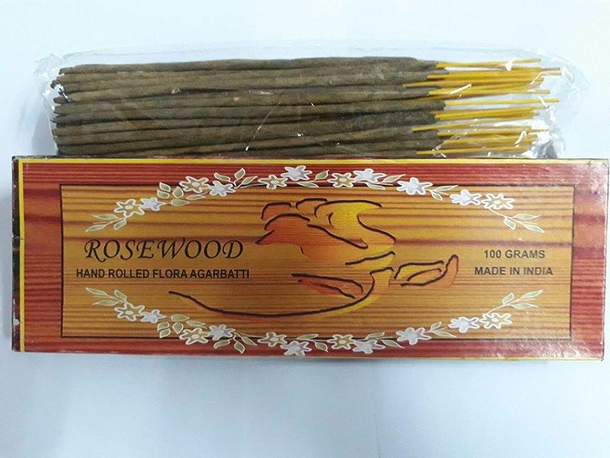 機関車酸度真珠のようなRosewood ローズウッド Agarbatti Incense Sticks 線香 100 grams Flora Incense Agarbatti フローラ線香