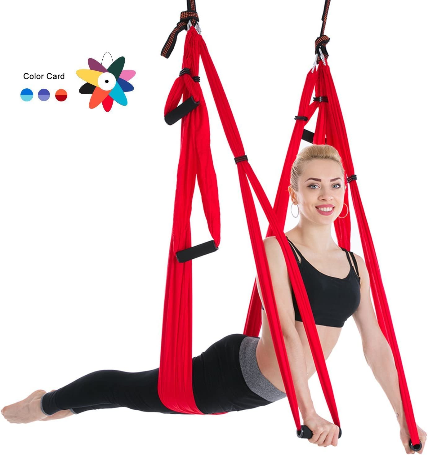 Ranbo Yoga Inversion Swing - Trapeze Flyin Anti-Gravity OFFicial shop Import Aerial