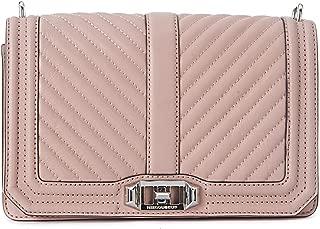 Rebecca Minkoff Chevron Ladies Small Leather Crossbody Handbag HF17ECQX08