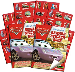 Disney Pixar CARS Reward Stickers - Over 200 Stickers!