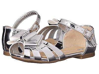 Kid Express Sabrina (Toddler/Little Kid/Big Kid) (Silver Mirrored Metallic) Girls Shoes