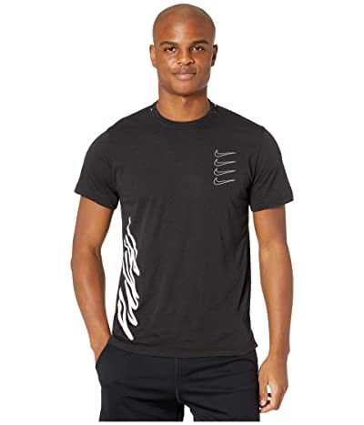 Nike Top Short Sleeve PX (Black/White/White) Men