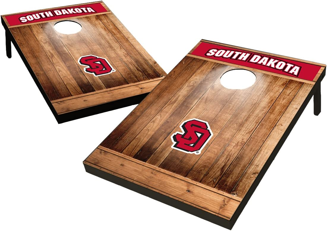 Heritage Design Wild Sports 2x3 NCAA College Cornhole Set