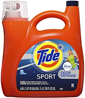 Tide Plus with Febreze Sport Active Fresh Liquid Laundry Detergent 138 Ounce