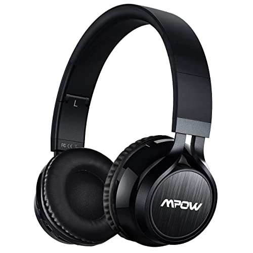 Mpow Thor,Auriculares Bluetooth Diadema,Casco Bluetooth Inalámbrico con Micrófono,Casco Plegable Headphone