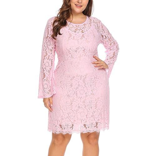 Plus Size Lace Dresses: Amazon.com