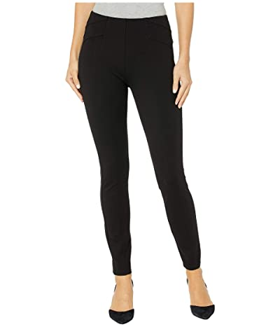 Liverpool Reese Seamed Pull-On Leggings in Super Stretch Ponte (Black) Women