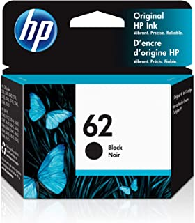 HP 62 | Ink Cartridge | Works with HP ENVY 5500 Series, 5600 Series, 7600 Series, HP Officejet 200, 250, 258, 5700 Series,...
