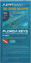 Art to Media Florida Keys 3D Dive Maps Key Largo Islamorada Marathon Key West Shipwrecks