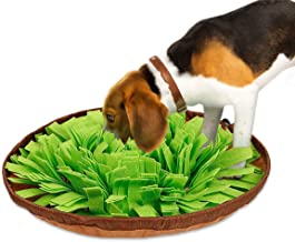 Dog Feeding Mat Large, Dog Snuffle Mat Pet Snuffle Bowl Pet Cat Snuffle Mat Cat Snuffling Nose Work Mat IQ Training Slow Eat Bowl