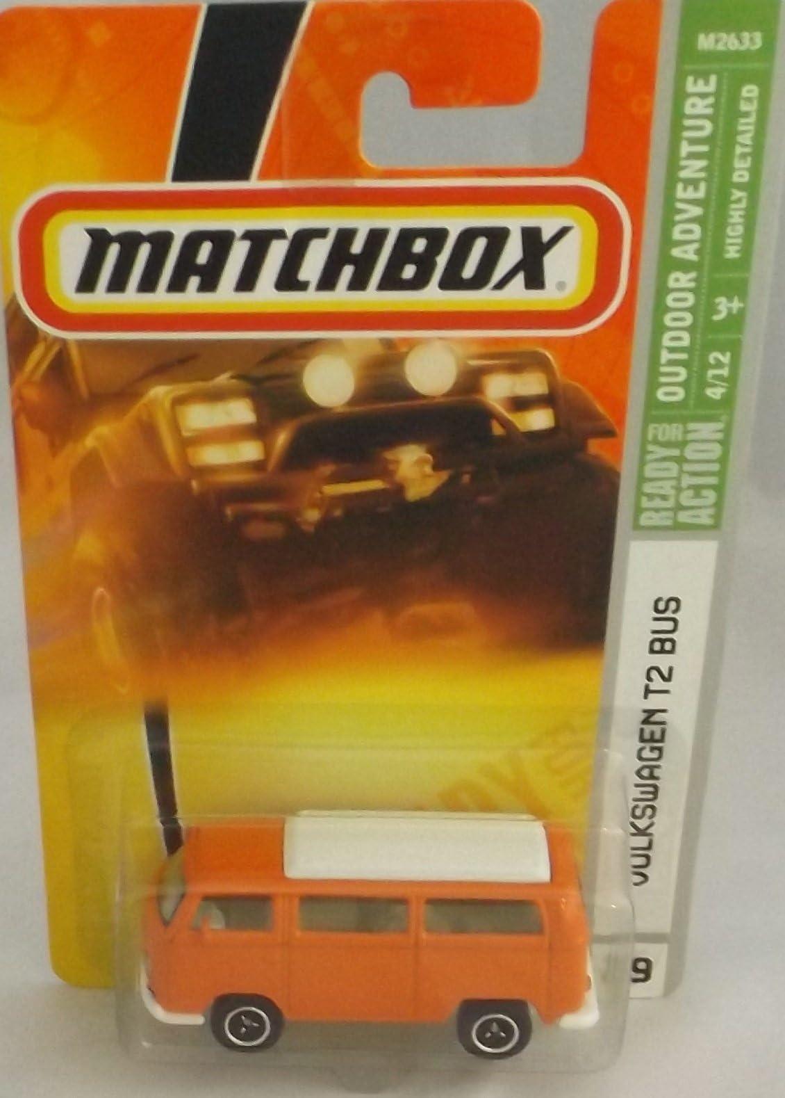 2010 Matchbox Outdoor Sportsman Volkswagen T2 Bus #79 Green