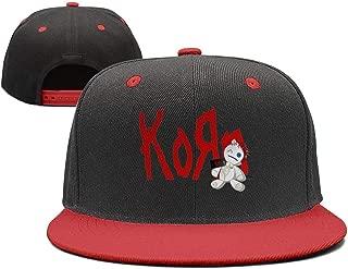 Korn-Doll-Metal-Cool Sports Flat Bill Adjustable Hat Baseball Snapsnapback Cap Hat Men & Women