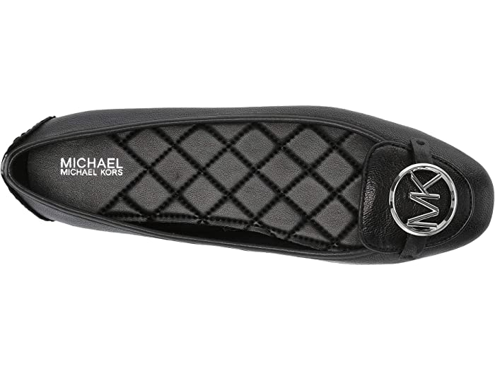 mk black flat shoes michael kors on sale