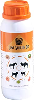Classic's Lime Sulfur Dip - Pet Care and Veterinary Treatment Against Ringworm, Mange, Lice, Flea, Itchy and Dry Skin - Sa...