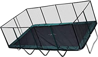 Happy Trampoline - Galactic Xtreme Gymnastic Outdoor Trampoline with Net Enclosure - High Performance Commercial Grade I Life-time Warranty, Heavy Weight Jumping Capacity