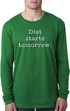 MOUNTS Diet Starts Tomorrow Men's Long Sleeve T-Shirt