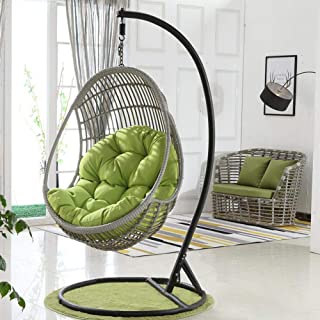 Swing Hanging Basket Seat Cushion,Filled with Pearl Cotton/Can Be Used for Cushions of Hammocks, Hanging Baskets, Swing Chairs in Living Rooms Or Family Rooms-Size : 90X120Cm(35X47Inch)