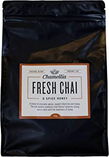 Chamellia 9 Spice Fresh Chai - Honey - 35oz / 2.2lb (1kg) (Camellia Sinensis) Single unit